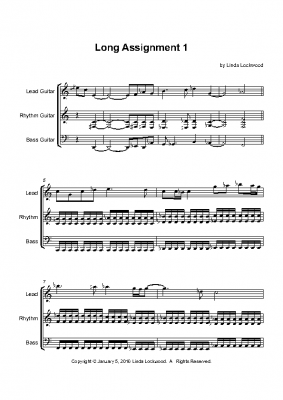 long_assignment1 – Full Score